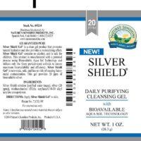 Silver Shield Gel Aqua Sol Technology - 20 ppm