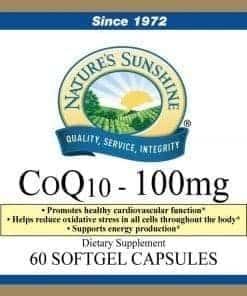 Co Q10 - 100 mg.
