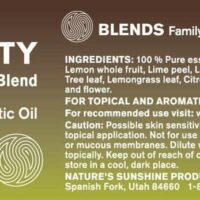 Purity (15 ml.) - 100% Pure Essential Oil