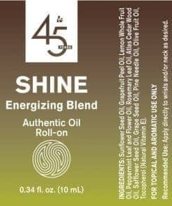 Shine Energizing Blend Roll-On - 100% Essential Oils