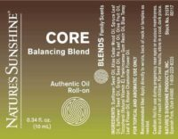 Core Balancing Blend Roll-On - 100% Essential Oils