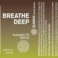 Breathe Deep Blend Roll-On - 100% Essential Oils