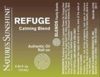 Refuge Calming Blend Roll-On - 100% Essential Oils