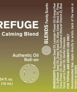 Refuge Calming Blend Roll-On - 100% Essential Oils